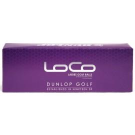 Bolas Dunlop LoCo dama pq de 3 unidades o trio