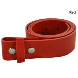 Cinturón Adidas Rojo de cuero 32 (solo correa no Hebilla)