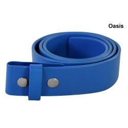Cinturón Adidas Azul Talla 32 de cuero (solo correa no Hebilla)