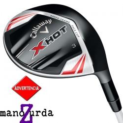 Madera Callaway ZURDO 7W X-Hot 21° Regular