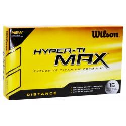 Bolas Wilson Hyper TI Max Distance 15 Und Blancas