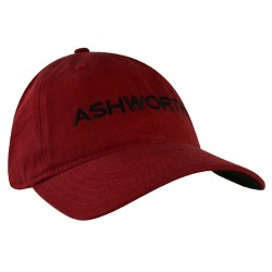 Gorra Ashworth Roja Core Cresting Logo Cachucha