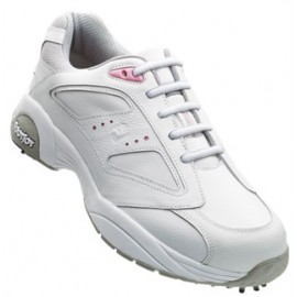 Zapatos FootJoy Dama FJ Summer Series Blanco-Rosa Talla 5 Medium
