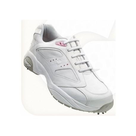 Zapatos FootJoy Dama FJ Summer Series Blanco-Rosa Talla 5 Medium