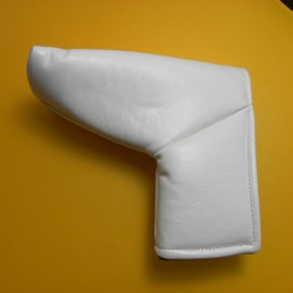 Cobertor para putter Blanco tipo Blade marca Edwin Wats protector cabeza