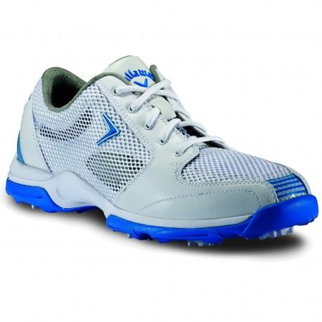 Zapatos Callaway Dama Solaire Mallado Blanco y azul ladies