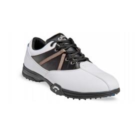 Zapatos de golf 7M Callaway Chev Comfort Blancos con Negro