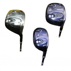 Combo Nicklaus 6 Palos Golden Bear Grafito Driver Maderas e Híbridos Power Draw 9 Pcs