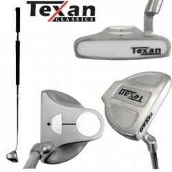 "Putter Texan Classics Belly 41"" Largo White Ball RH"