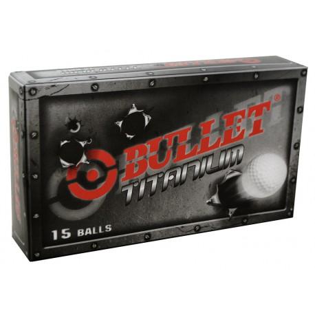 Bolas Bullet Titanium 15 Und Blancas