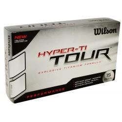 Bolas Wilson Hyper TI Tour 15 Und Blancas