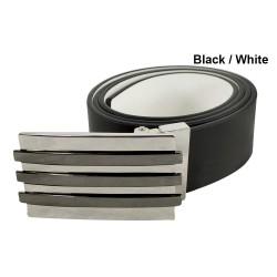 Cinturón Adidas Talla 30 Reversible Blanco Negro