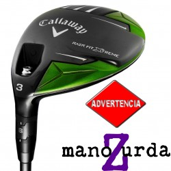 Madera Callaway ZURDO 5W 18° RAZR Fit Xtreme Stiff