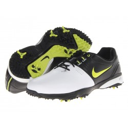 Zapatos Nike 13M US Air Rival III Blanco/Negro/Verde Medium
