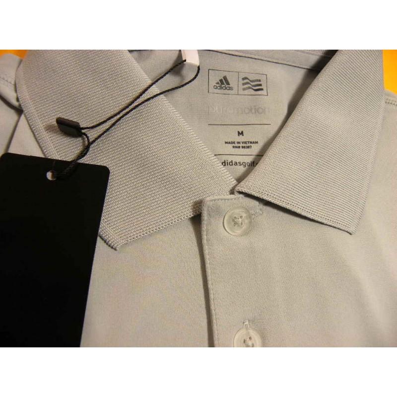 6795cad868 Camiseta Polo Adidas M Blanco Onix Puremotion Sólida