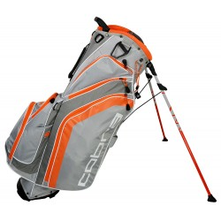 Talega Cobra Gris y Naranja Fly-Z parar patitas Stand Grey-Vibrant orange bolsa de golf