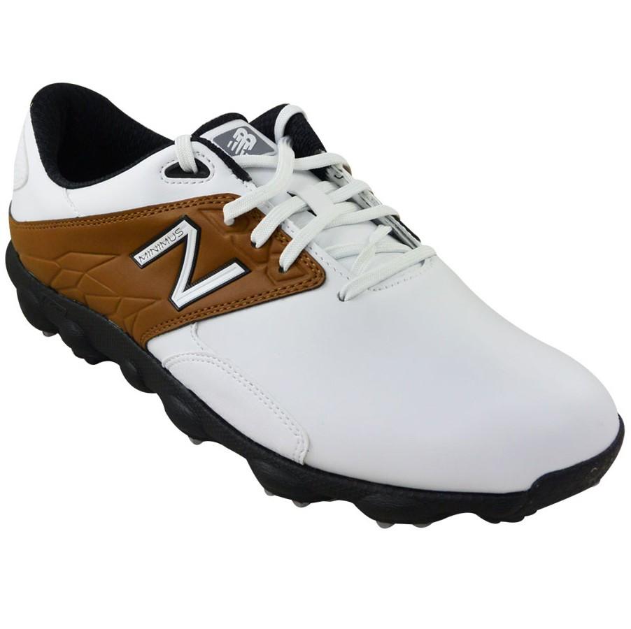 b25463d364cd7 Zapatos New Balance Minimus LX Blanco Cafe Hombre
