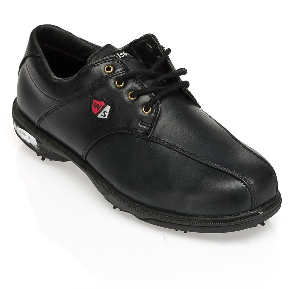 c53fa1f555bf8 Zapatos Wilson Staff MatchPlay Negro Hombre