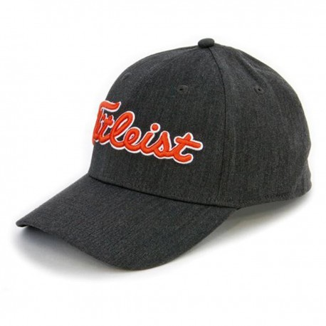 Gorra cachucha Titleist Gris Carbón Talla S/M Performance Heather Charcoal