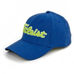 Gorra cachucha Titleist Azul Royal Talla S/M Performance Heather