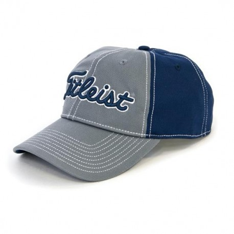 Gorra cachucha Titleist Carbón-Azul Performance Pique Charcoal-Navy