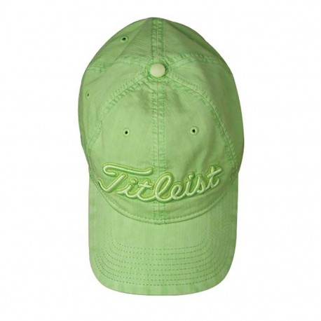 Gorra Titleist Verde Lima Pigment Dyed Lime Talla única
