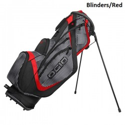 Talega Ogio Rayada y Rojo Shredder Patitas Parar Stand bolsa de golf