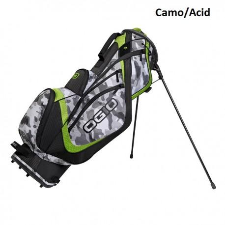 Talega Ogio Gris y verde Shredder Patitas Parar Stand bolsa de golf