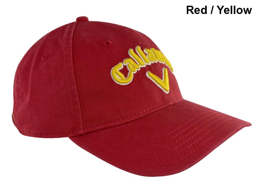 Gorra Callaway Roja-Amarilla Heritage... Gorra tipo cachucha ... ed841cb5949