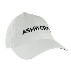 Gorra Ashworth Blanca Core Cresting Logo Cachucha