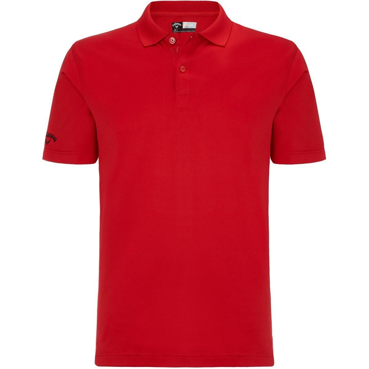 78b0e634a Callaway Camiseta Callaway S Pequeña Roja Tango Opti Dri polo hombre ...