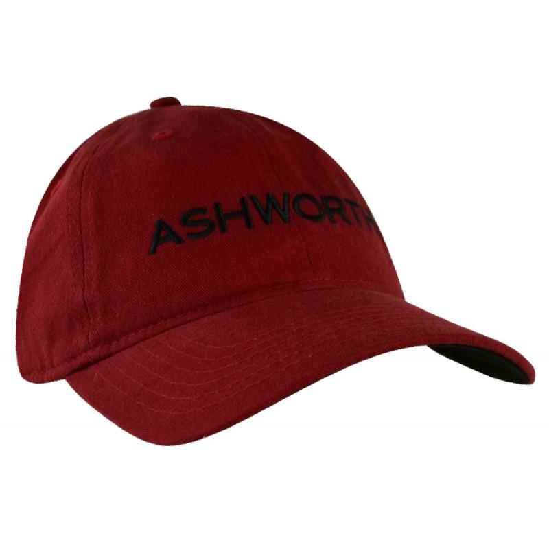 b7c5eacd82b73 Gorra Ashworth Roja Core Cresting Logo Cachucha gorras para golf