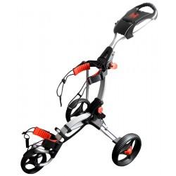 Carrito para talega de golf H2 Plata Personal Caddie