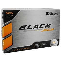 Bolas Wilson Black Jack 12 Und Blancas Docena Tour Accuracy