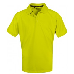 Camiseta Adidas NIÑO Mediana M Amarilla Sun Burst Solid Polo