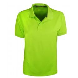 Camiseta Adidas NIÑO Mediana M Verde Limeade Solid Polo
