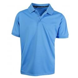 Camiseta Adidas NIÑO Mediana M Azul Blue Light Solid Polo