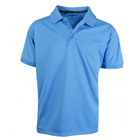Camiseta Adidas NIÑO Mediana M Azul Blue Light Solid Polo