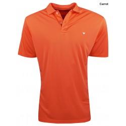 Camiseta Callaway S Pequeña Naranja Opti Dri Carrot polo hombre