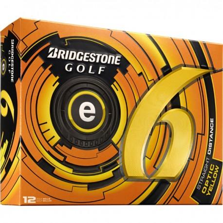 Bolas Bridgestone e6 Amarillas Docena (12 Unidades)