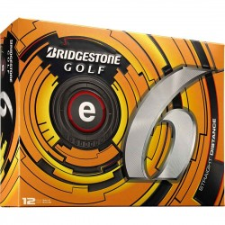 Bolas Bridgestone e6 Blancas Docena (12 Unidades)