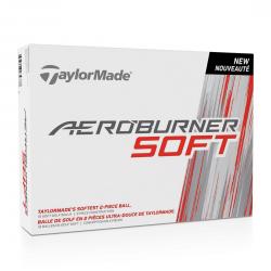 Bolas TaylorMade Aeroburner SOFT Blancas Docena (12 Unidades)
