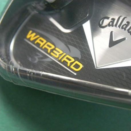 Set de Hierros Callaway Warbird3 4-PW,SW acero Uniflex Derecho (8 Palos)