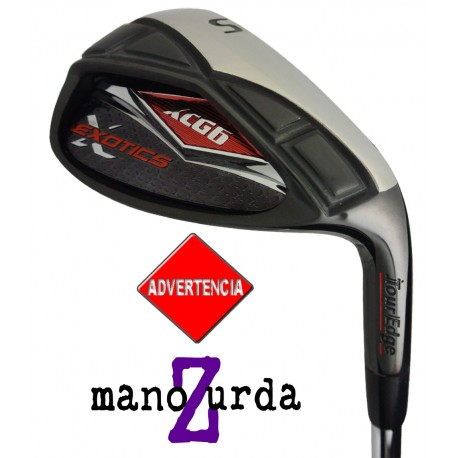 Wedge Tour Edge ZURDO Sand SW 56º Exotics XCG Acero Uniflex