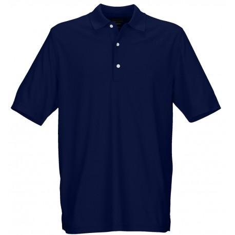 Camiseta Greg Norman S Pequeña Azul Navy Protek Micro Pique hombre Polo