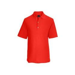 Camiseta Greg Norman M Mediana Roja Bullseye Protek Micro Pique hombre Polo