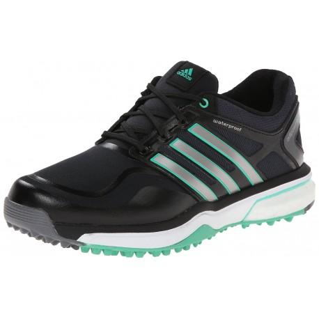 Zapatos Adidas Dama Adipower Sport Boost Negro Plata Verde