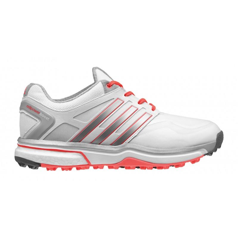 premium selection e500b d5b0f Zapatos Adidas Dama US 9.5M Rojo Plata Blanco Adipower Sport Boost