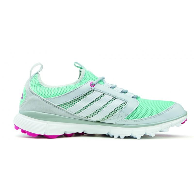 check out ef029 0bf00 Zapatos Adidas Dama Gris y Menta Adistar ClimaCool