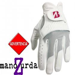 Guante Bridgestone DAMA ZURDA S Pequeño Multicolored Logo Cuero sintético y cabretta